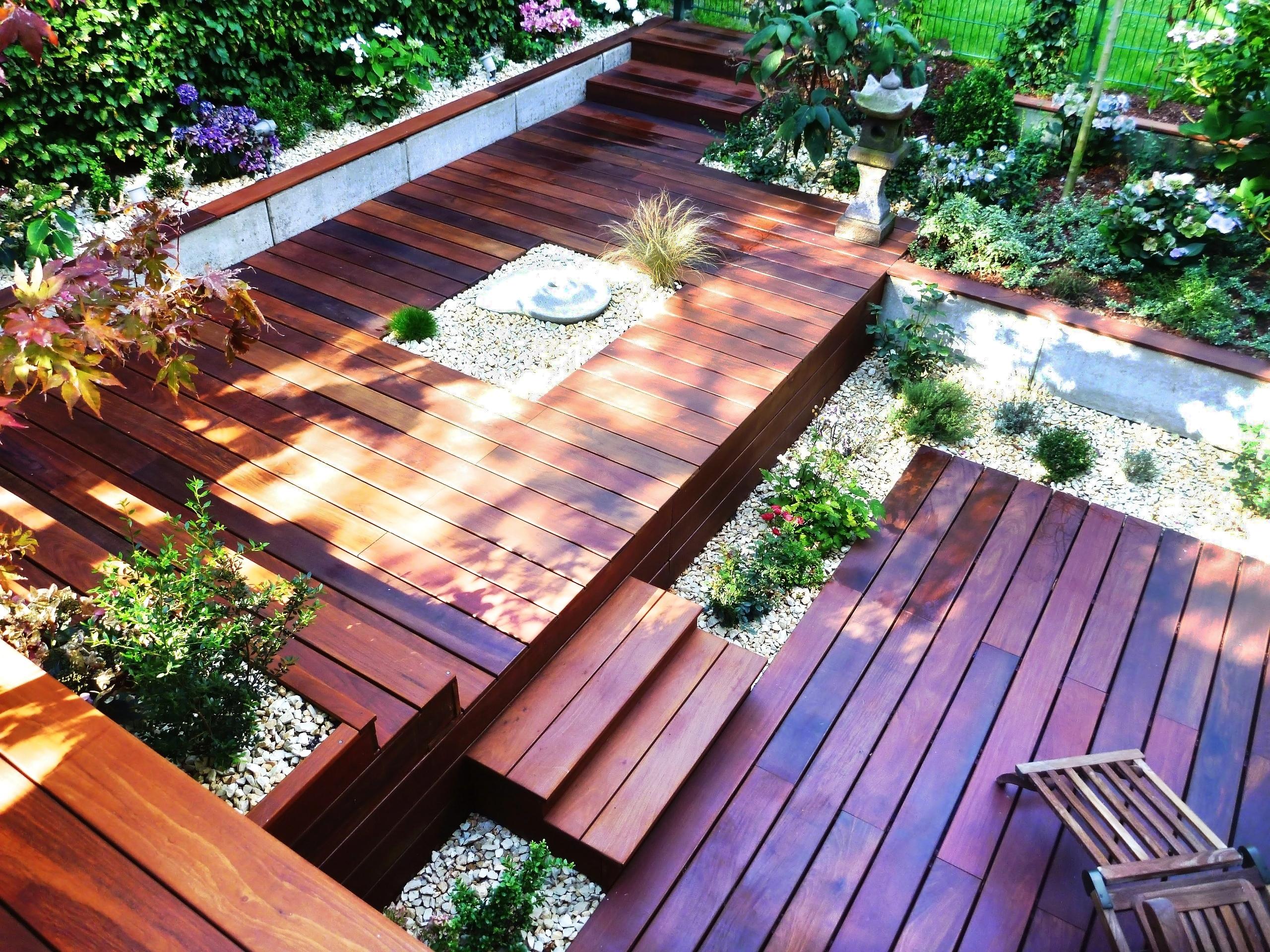 c30cd61f80d66d Gartengestaltung mit Holz  Terrassen